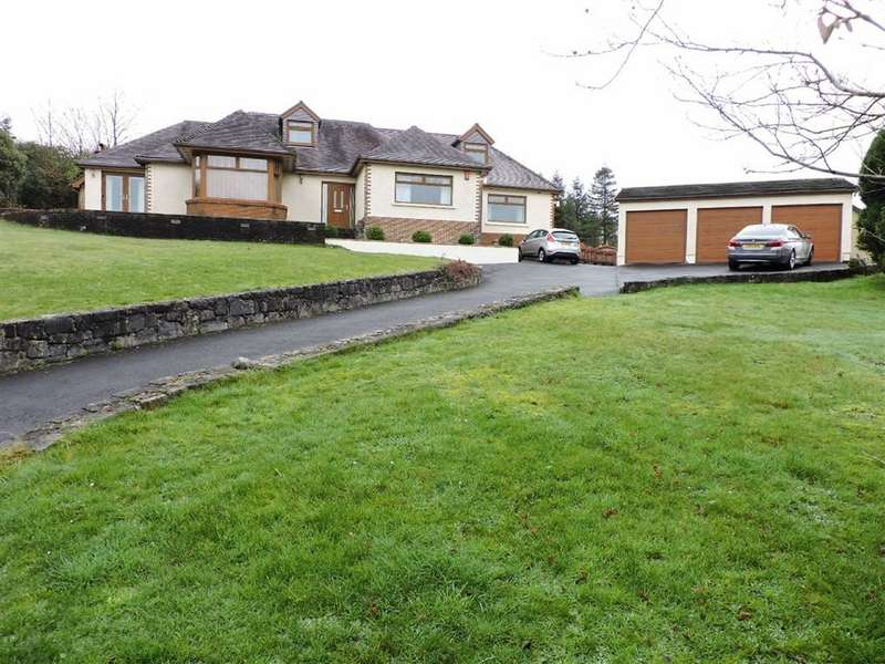 4 Bedrooms Detached Bungalow for sale in Drefach, Llanelli