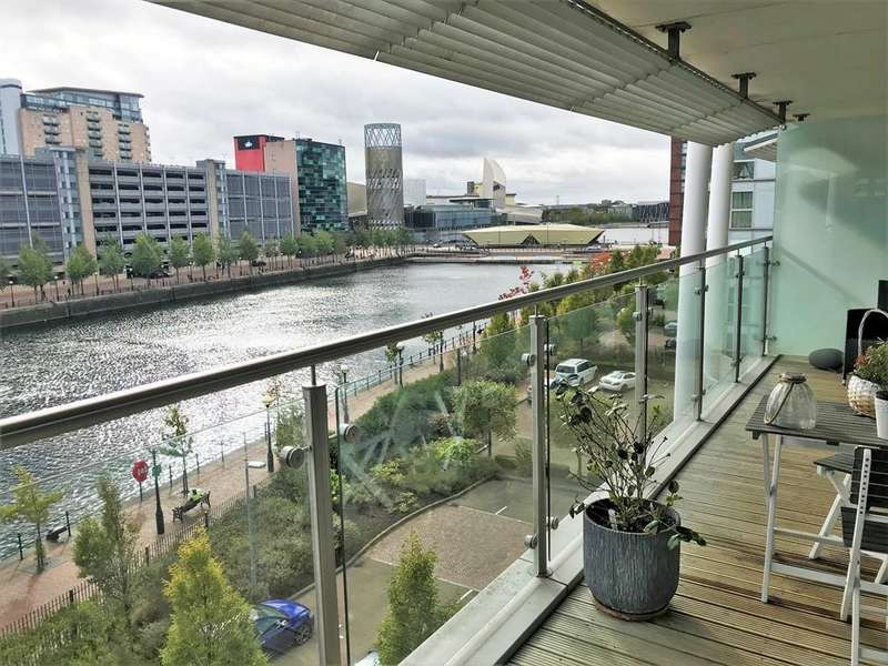 2 Bedrooms Apartment Flat for sale in N V Buildings, 100 The Quays, Salford, M50 3BE