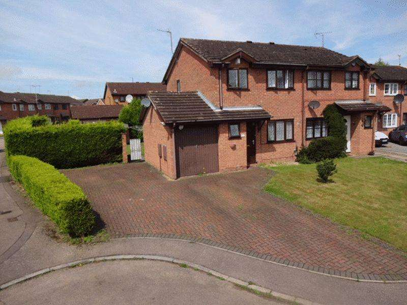 3 Bedrooms Semi Detached House for sale in Harlestone Close, Luton