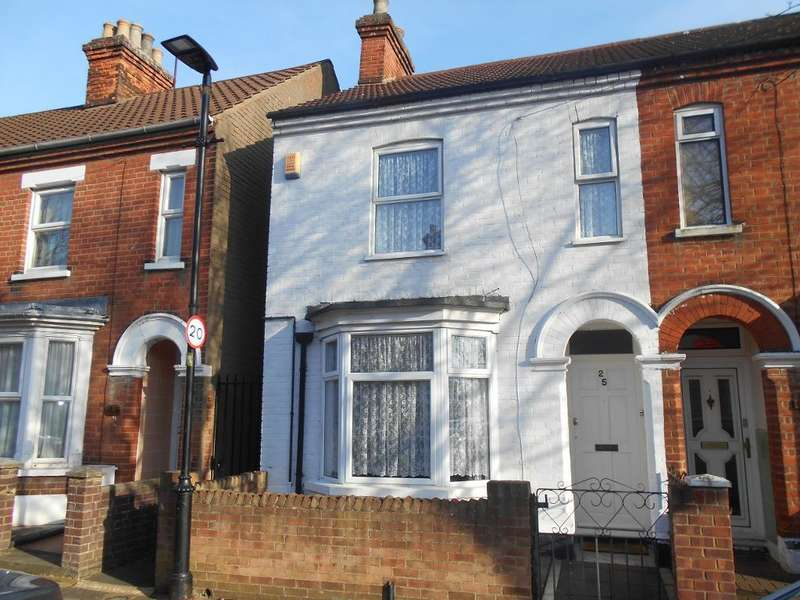 3 Bedrooms End Of Terrace House for sale in Marlborough Road, Bedford, Bedfordshire, MK40 4LG