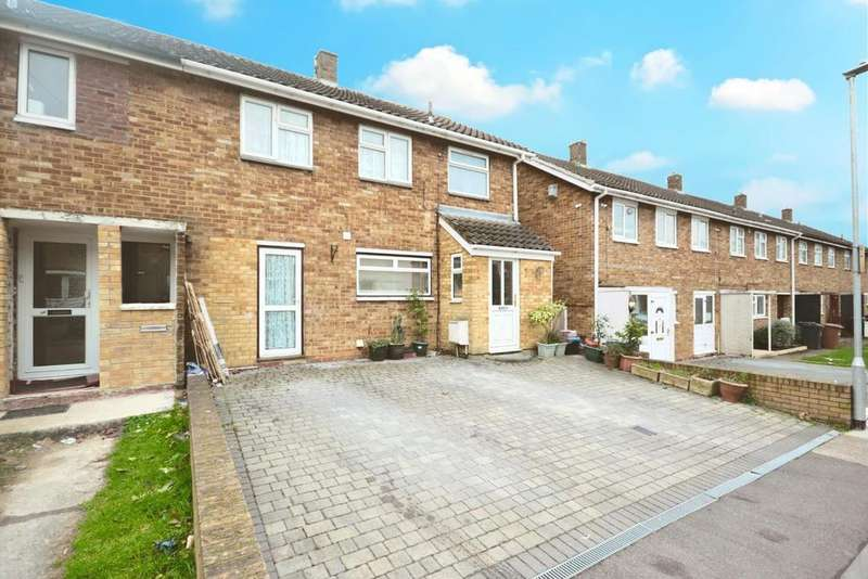3 Bedrooms End Of Terrace House for sale in Badgers Close, Stevenage