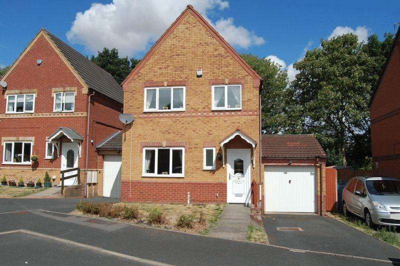 3 Bedrooms Detached House for sale in Fuchsia Drive, Pendeford, Wolverhampton