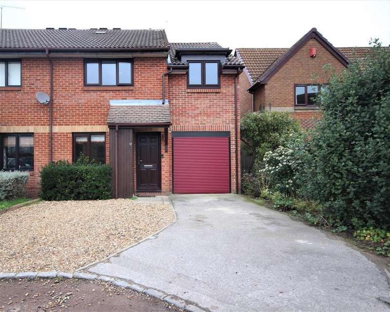 4 Bedrooms Semi Detached House for sale in Verey Close, Twyford, Reading