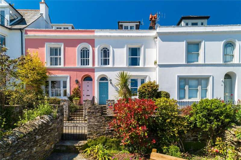 4 Bedrooms Terraced House for sale in Lower Castle Road, St. Mawes, South Cornwall, TR2