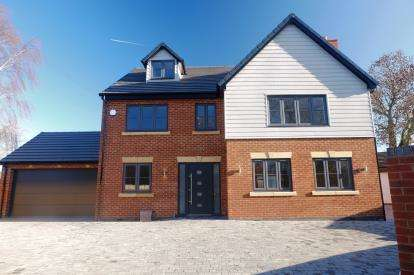 6 Bedrooms Detached House for sale in Willows Lane, Atherstone, Warwickshire