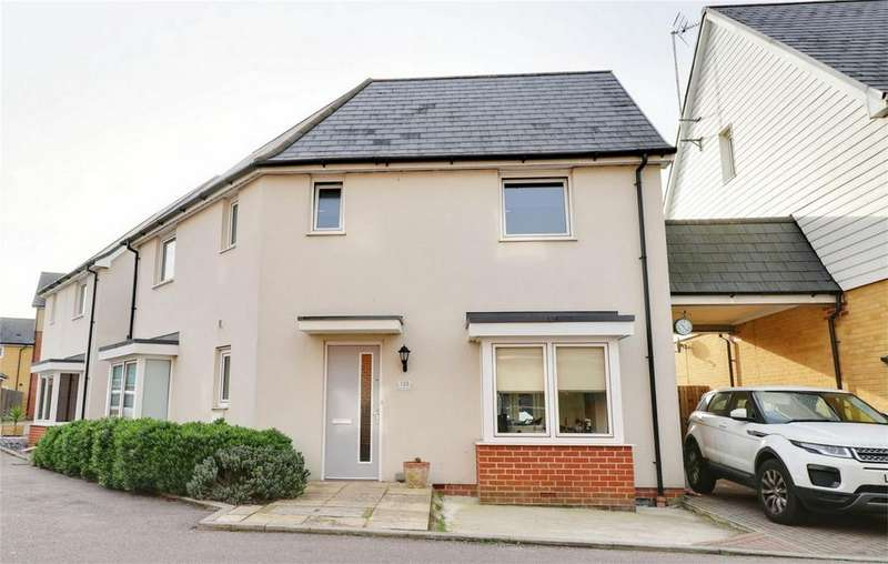 3 Bedrooms Link Detached House for sale in Torkildsen Way, Harlow, Essex