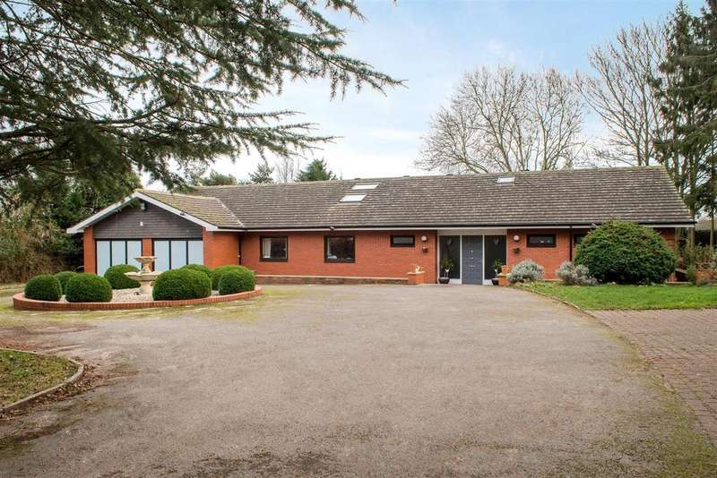 5 Bedrooms Bungalow for sale in Wide Lane, Hathern