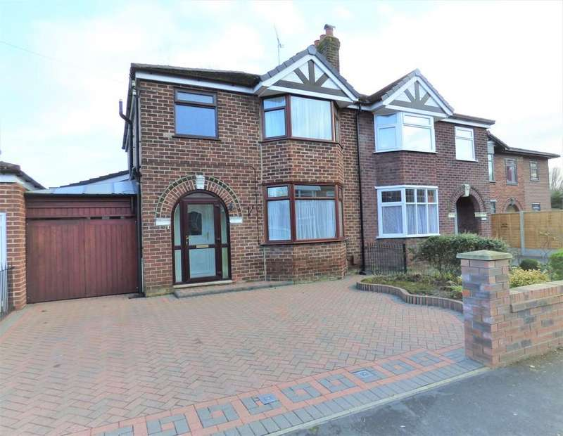 3 Bedrooms Semi Detached House for sale in Wickenby Drive, Sale