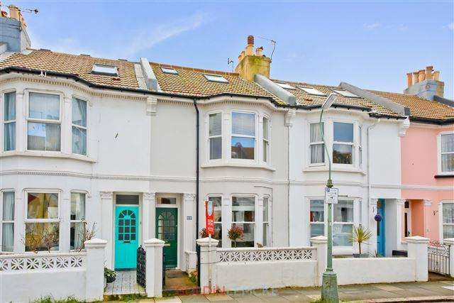 3 Bedrooms Terraced House for sale in Montgomery Street, Hove