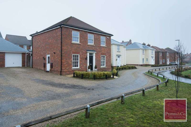 4 Bedrooms Detached House for sale in Culloden Avenue, The Hampdens, New Costessey