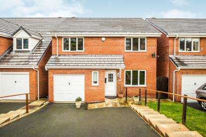 4 Bedrooms Detached House for sale in Holway Road, Holywell, Flintshire, North Wales, CH8