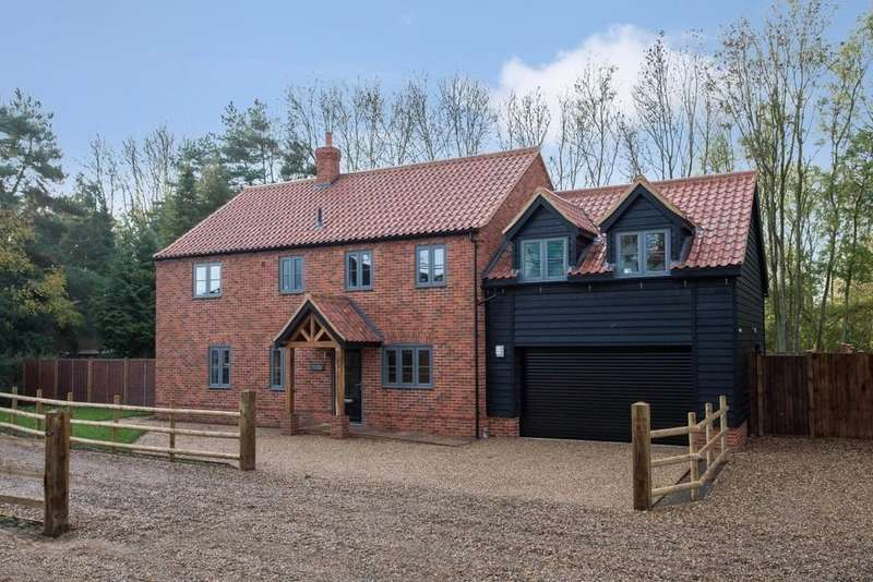4 Bedrooms Detached House for sale in Attleborough