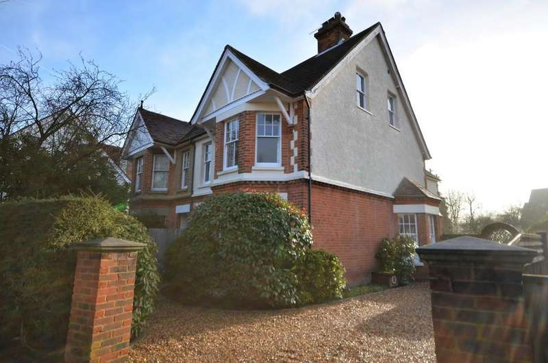 5 Bedrooms Semi Detached House for sale in Ridgway Road, Farnham