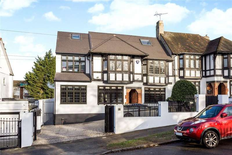 6 Bedrooms Semi Detached House for sale in College Gardens, Chingford, London, E4