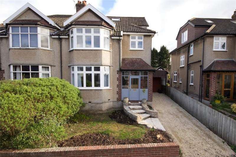 4 Bedrooms Semi Detached House for sale in Coombe Bridge Avenue, Stoke Bishop, Bristol, BS9
