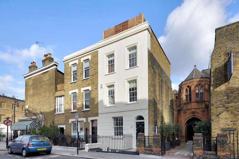 3 Bedrooms Semi Detached House for sale in Bourne Street, Belgravia , London SW1W