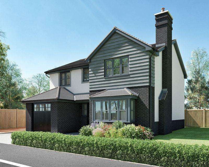 4 Bedrooms Detached House for sale in The Chestnut, Oakwood Development, Conwy