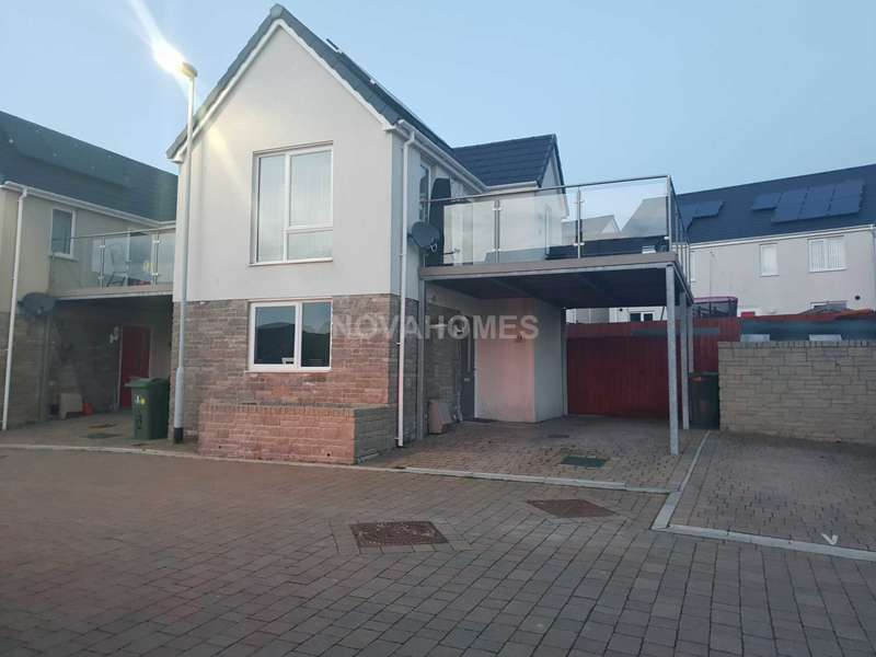 2 Bedrooms Detached House for sale in Stunning home with balcony and off road parking, PL2