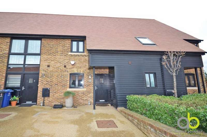 2 Bedrooms Terraced House for sale in Dovecote Barns, Vellacott Close