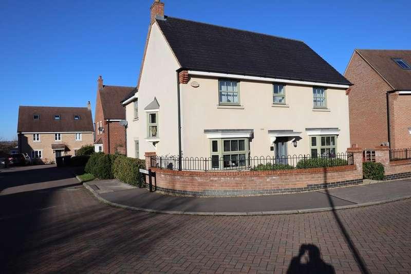 4 Bedrooms Detached House for sale in Butler Drive, Bedford, Bedfordshire, MK43