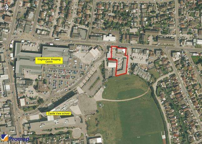 Land Commercial for sale in High Street, Canvey Island, Essex