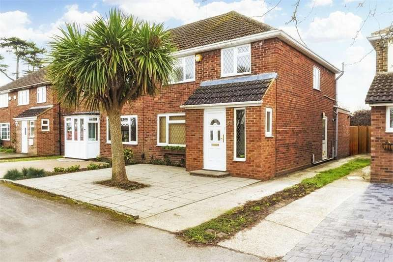 3 Bedrooms Semi Detached House for sale in Church Road, Old Windsor, Berkshire