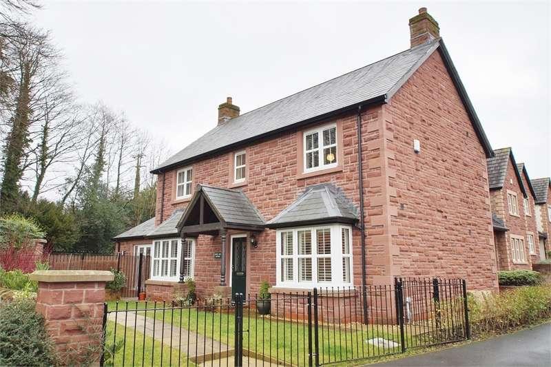 4 Bedrooms Detached House for sale in CA8 1GH Edmondson Close, Brampton, Cumbria