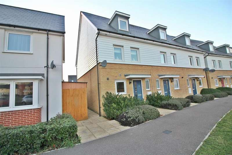 3 Bedrooms End Of Terrace House for sale in Bowhill Way, Harlow