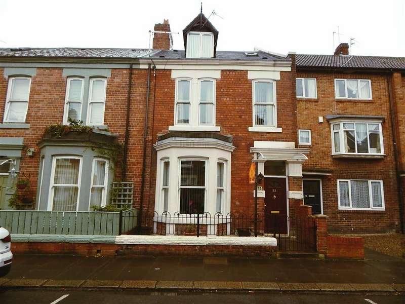 4 Bedrooms Terraced House for sale in Cheltenham Terrace, Heaton, Newcastle Upon Tyne, NE6