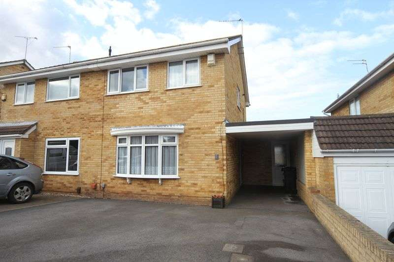 3 Bedrooms Property for sale in Fallowfield North Common, Bristol