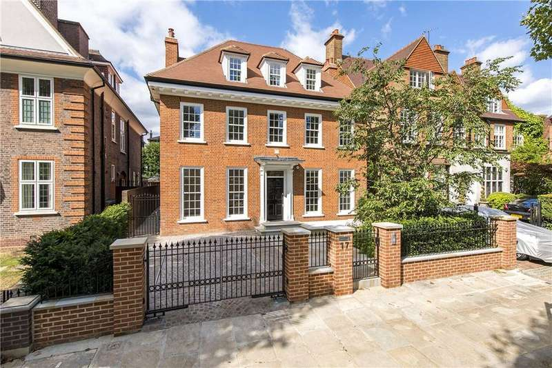 5 Bedrooms Detached House for sale in Wadham Gardens, London, NW3