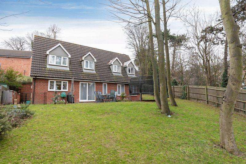 4 Bedrooms Detached House for sale in Farnley Grove, Luton
