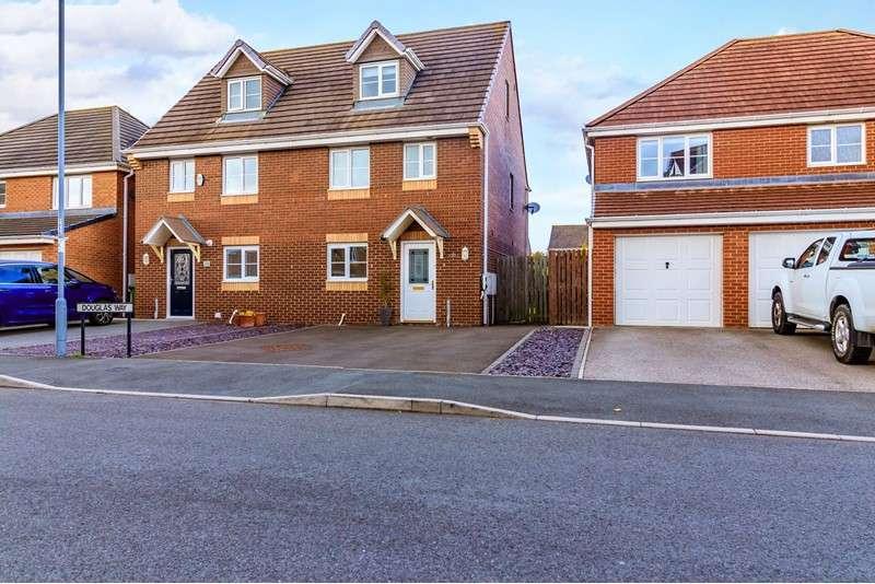 4 Bedrooms Property for sale in Douglas Way, Murton, Seaham, Durham, SR7 9HX