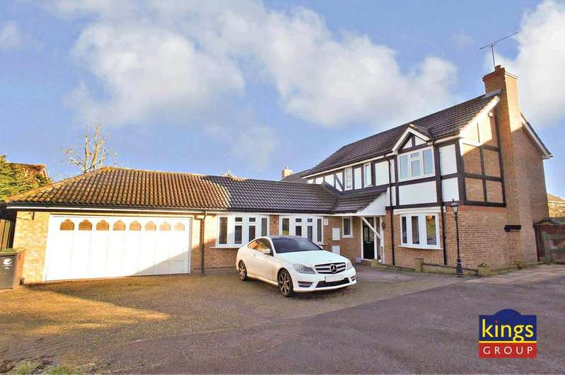 4 Bedrooms Detached House for sale in Farthingale Lane, Waltham Abbey