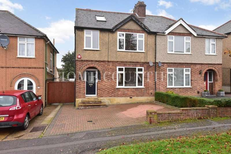 4 Bedrooms Semi Detached House for sale in Hill Rise, Potters Bar, EN6