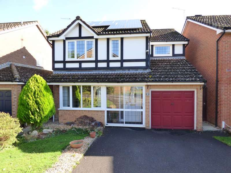 4 Bedrooms Detached House for sale in Gillingham SP8