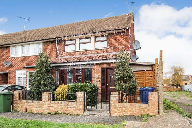 3 Bedrooms End Of Terrace House for sale in Anton Road, South Ockendon