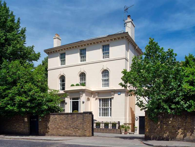 5 Bedrooms Detached House for sale in Prince Albert Road, Regents Park, London, NW1
