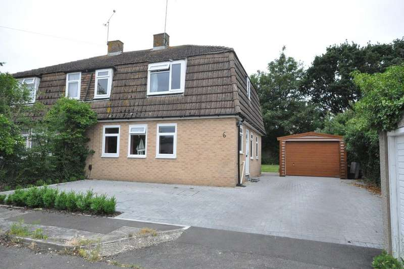 4 Bedrooms Semi Detached House for sale in Raleigh Close, Woodley, Reading, RG5 3PL