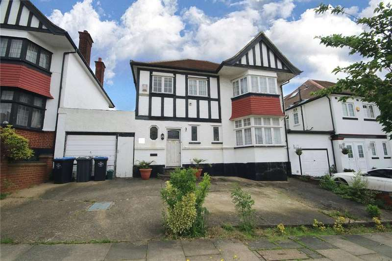 4 Bedrooms Detached House for sale in Barn Rise, Wembley, HA9