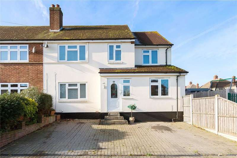 5 Bedrooms End Of Terrace House for sale in Kempton Avenue, Hornchurch, RM12