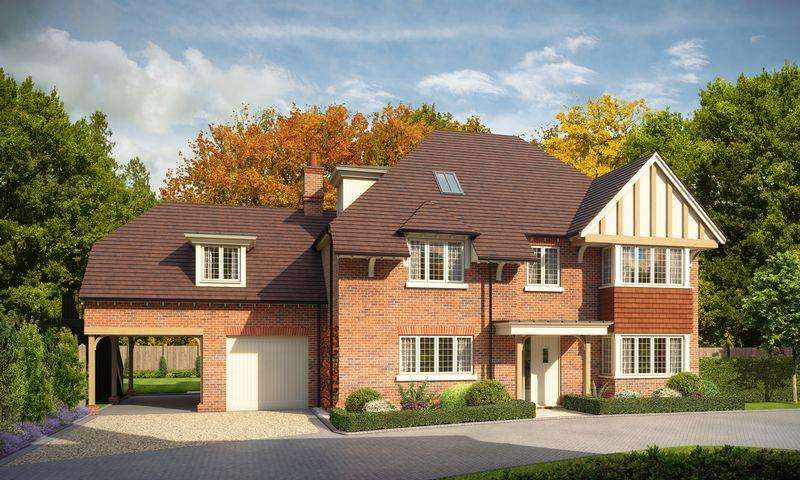 5 Bedrooms Detached House for sale in Oaklea Grange, Station Road, Newick
