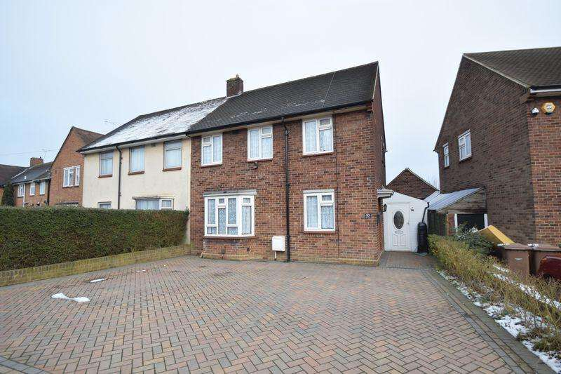 3 Bedrooms Semi Detached House for sale in Abbey Drive, Luton