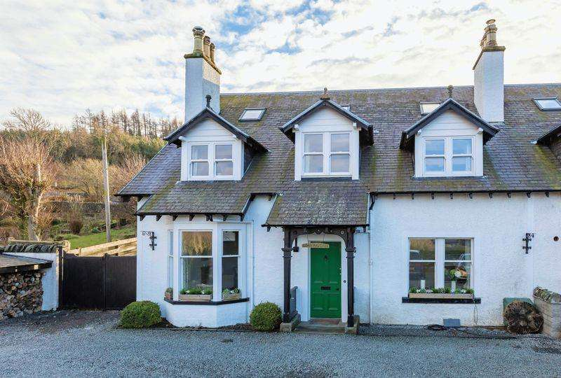 4 Bedrooms Semi Detached House for sale in NEW! Loaningdale House, Edderston Road, Peebles