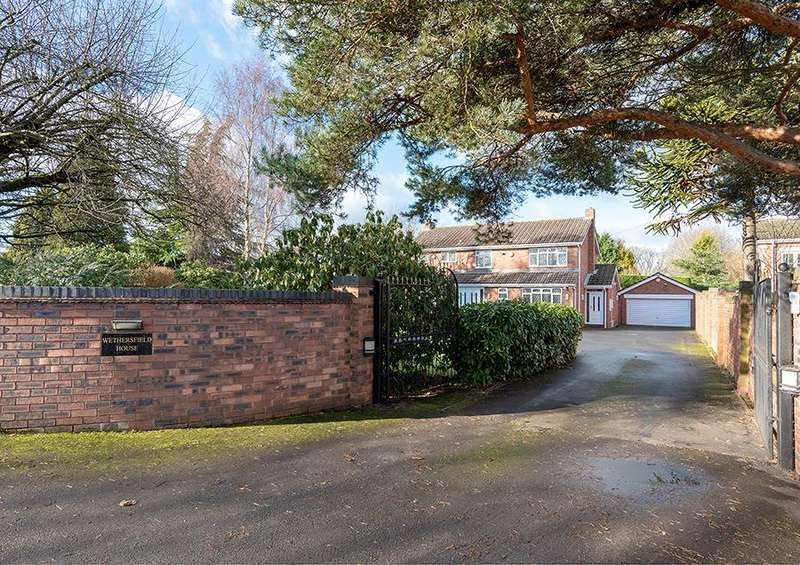 4 Bedrooms Detached House for sale in Pool House Road, Wombourne, Wolverhampton