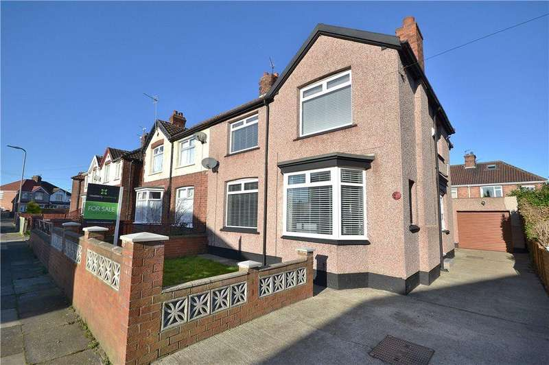 5 Bedrooms Semi Detached House for sale in Cleveland Avenue, Norton, Stockton-On-Tees