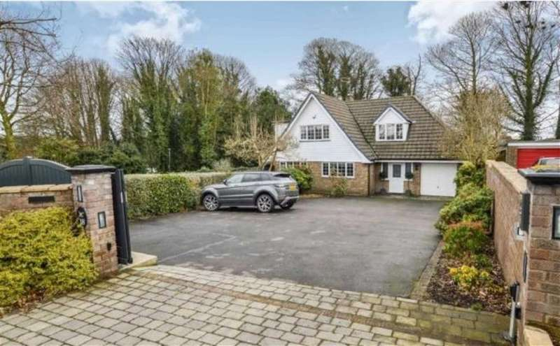 4 Bedrooms Detached House for sale in Pheasant Walk, High Legh, Cheshire
