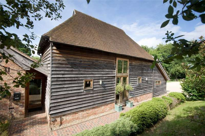 5 Bedrooms Barn Conversion Character Property for sale in Town Littleworth, Nr Lewes, East Sussex