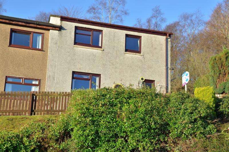 3 Bedrooms Semi Detached House for sale in Cammesreinach Crescent, Dunoon, PA23