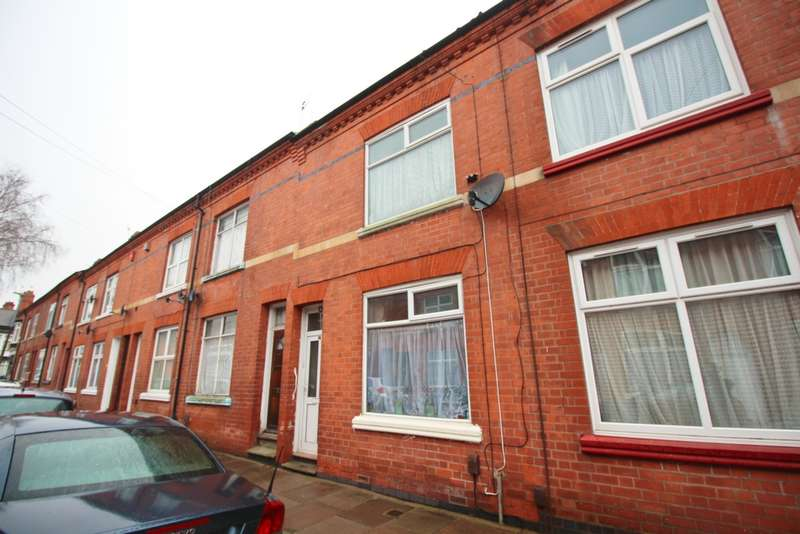 3 Bedrooms Terraced House for sale in Dashwood Road, Leicester, LE2